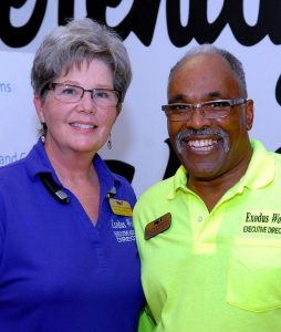Rev Susan Walker and Rev Reggie Longcrier 2018